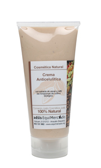 CREMA ANTICELULITICA CACAO Y CAFE NATURAL
