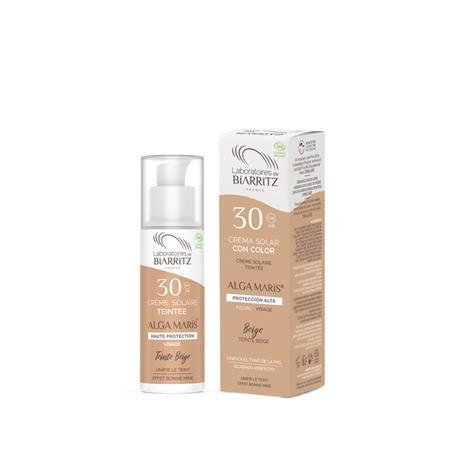CREMA FACIAL SOLAR COLOR SPF 30  50ml. (beige)