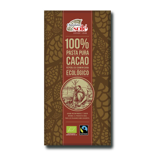 CHOCOLATE CACAO 100% ECO