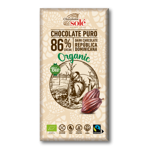 CHOCOLATE NEGRO 86% ECO
