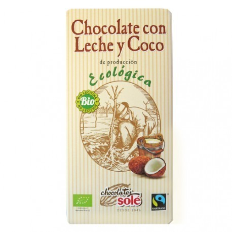 CHOCOLATE CON LECHE Y COCO ECO