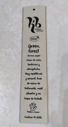 INCIENSO H&B GREEN FOREST ECO