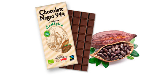 CHOCOLATE NEGRO 94% ECO