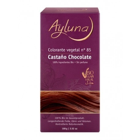 COLORANTE VEGETAL AYLUNA CASTAÑO CHOCOLATE