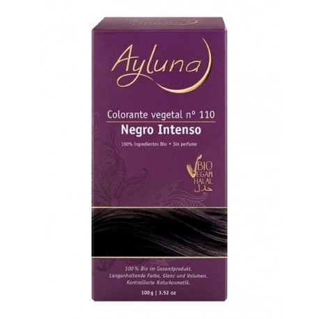 COLORANTE VEGETAL AYLUNA NEGRO INTENSO
